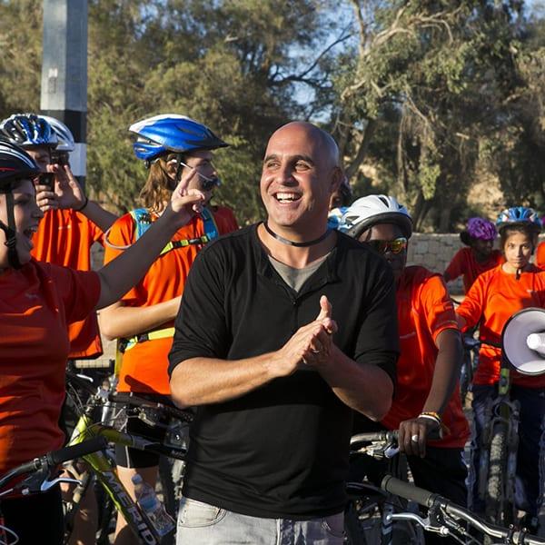 מסע אופניים בשביל השנטי 2012 - צילום ערן לם 834
